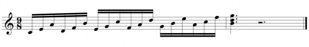 Music Memory Example 1